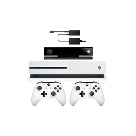 Microsoft Xbox One S - 500GB Bundle Game Console With Kinect